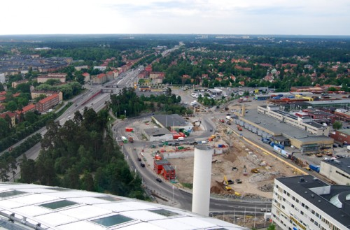 Byggplatsen