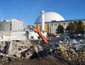 Bygget av Stockholmsarenan