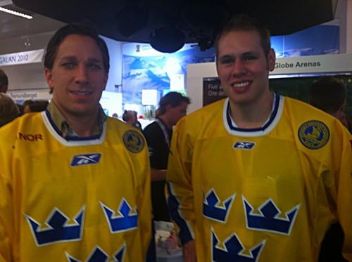 Christian Bäckman och Joel Lundqvist