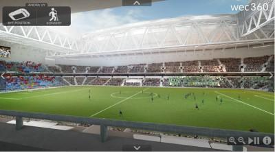 3d-modell fotboll
