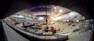 Panorama arenarummet fr norr
