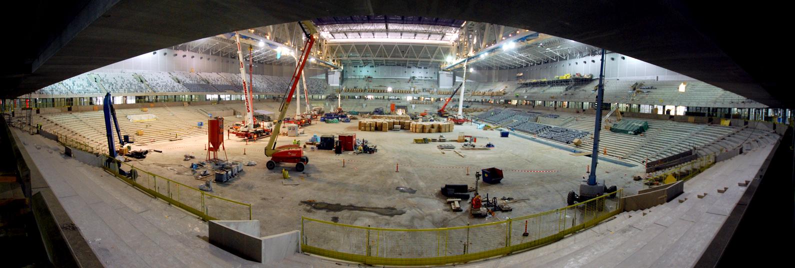 Panorama arenarummet fr s